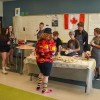 The student run Busy Bean coffee shop has been a huge hit at École St. Joseph School